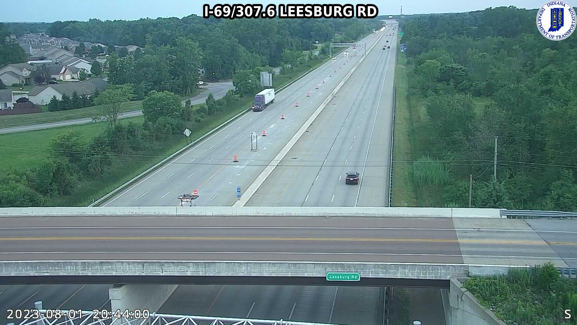 I-69 LEESBURG ROAD CAM