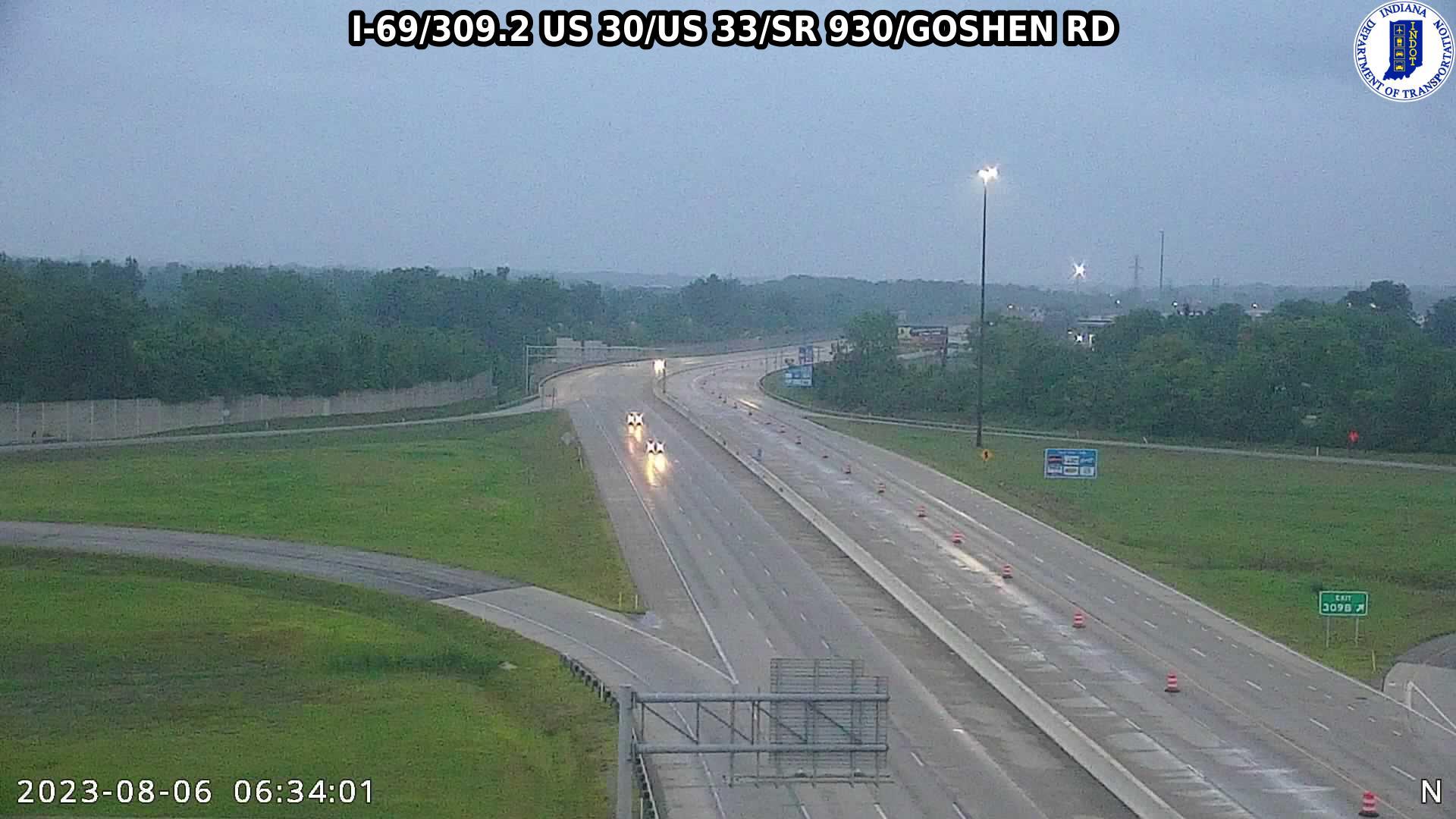 I-69 US 30/US 33/SR 930/GOSHEN ROAD CAM