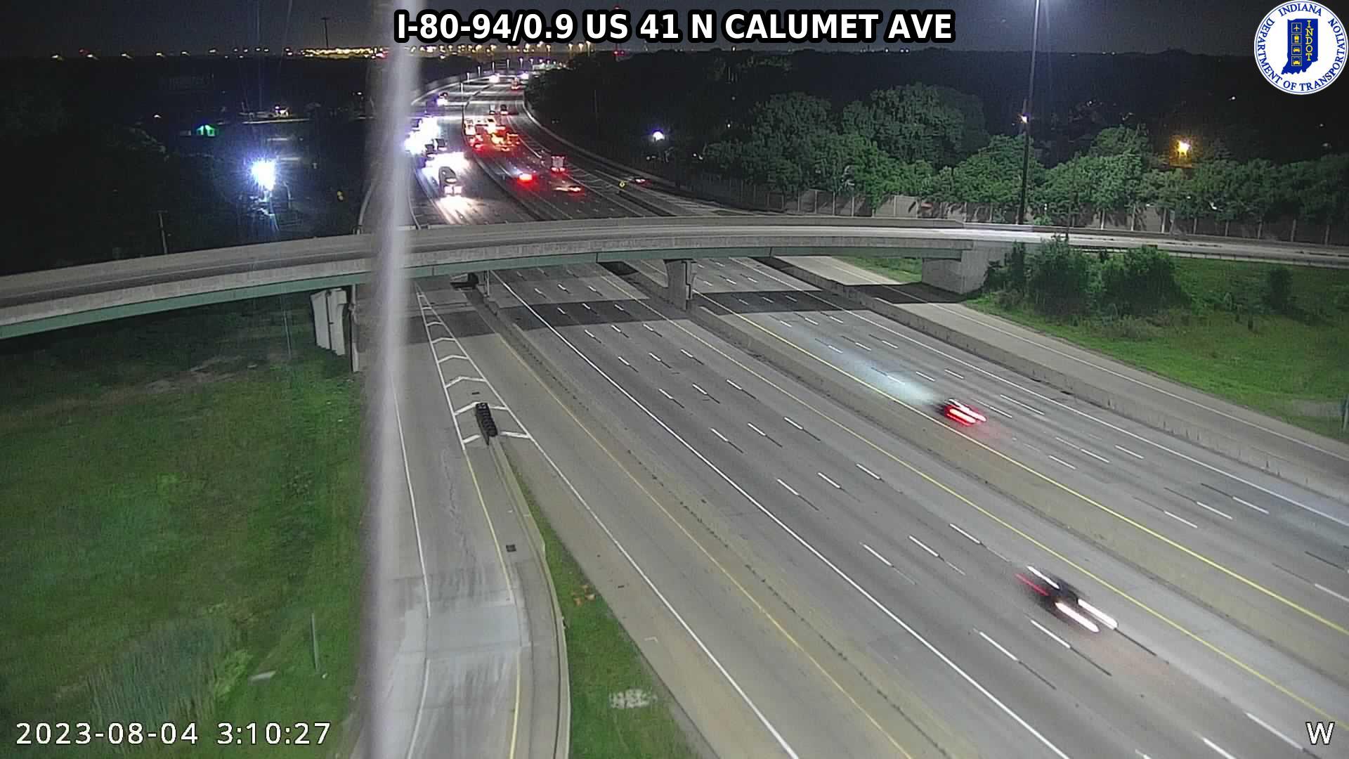 camera snapshot for WB I-80 at US-41