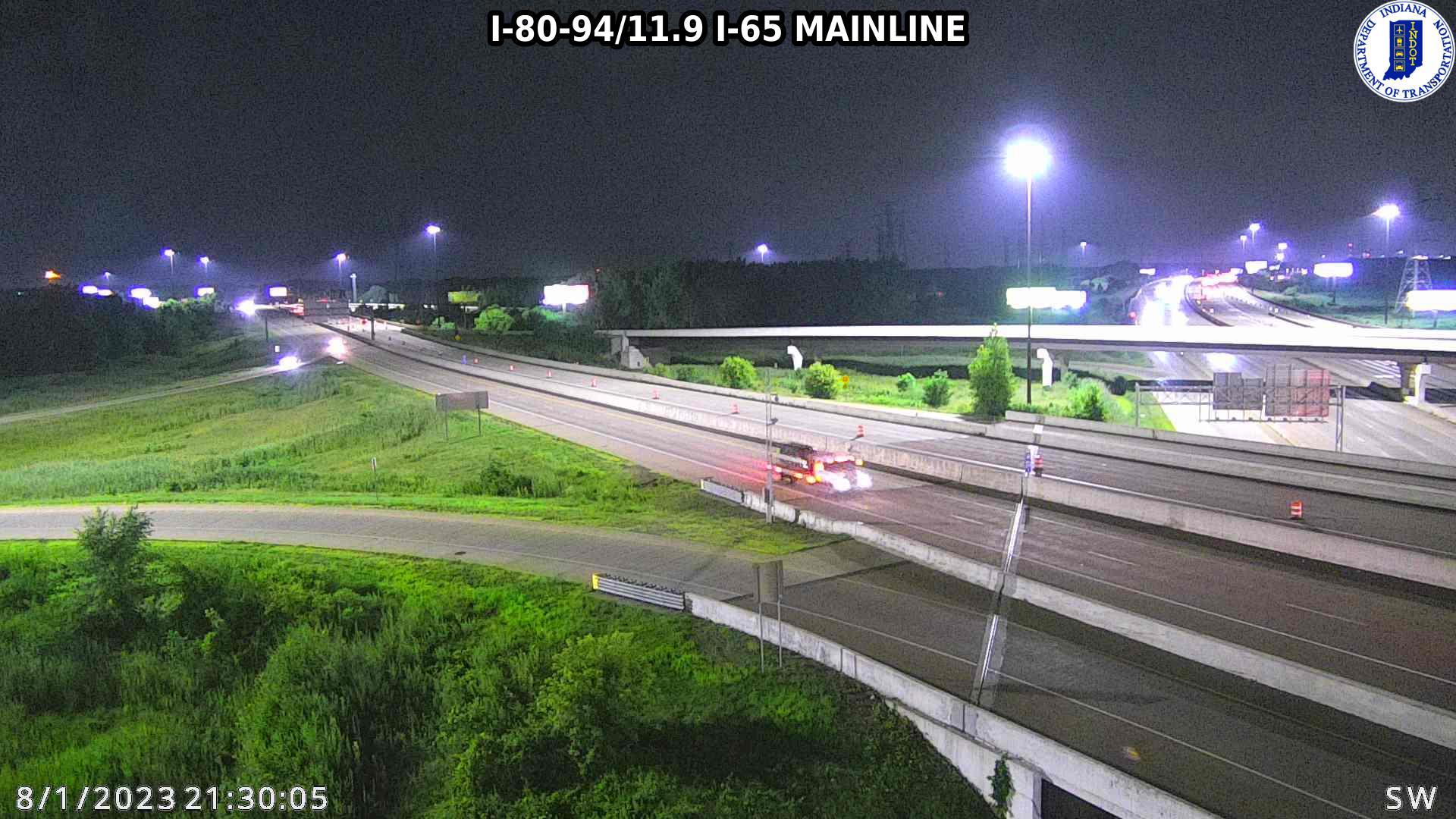 camera snapshot for WB I-80 at Colorado St