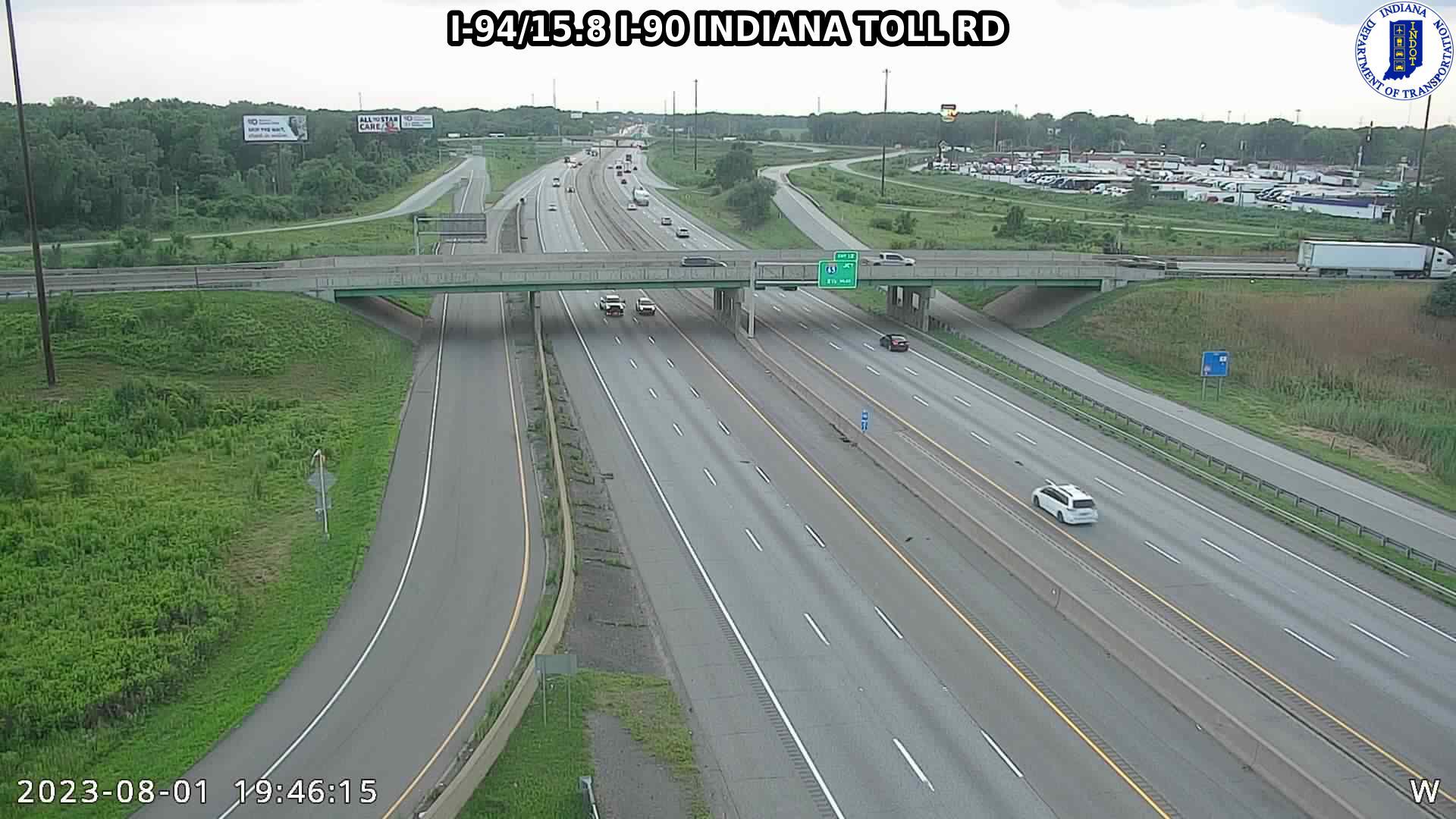 camera snapshot for WB I-94 at I-80 (+0.1 miles)