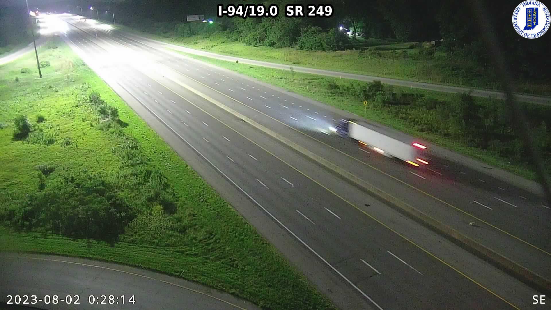 camera snapshot for WB I-94 at Jensen Dr (+0.3 miles)