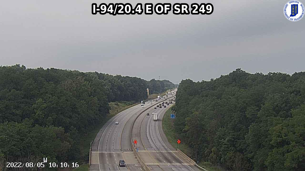 camera snapshot for WB I-94 at IN-149 (+0.9 miles)