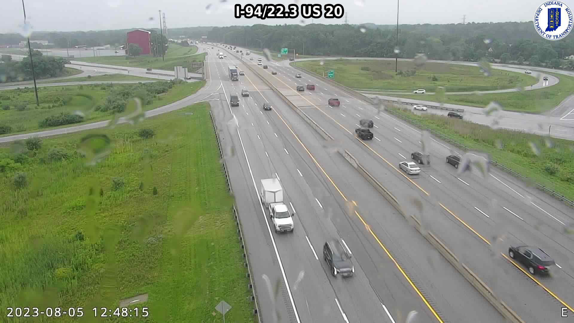 camera snapshot for WB I-94 at US-20