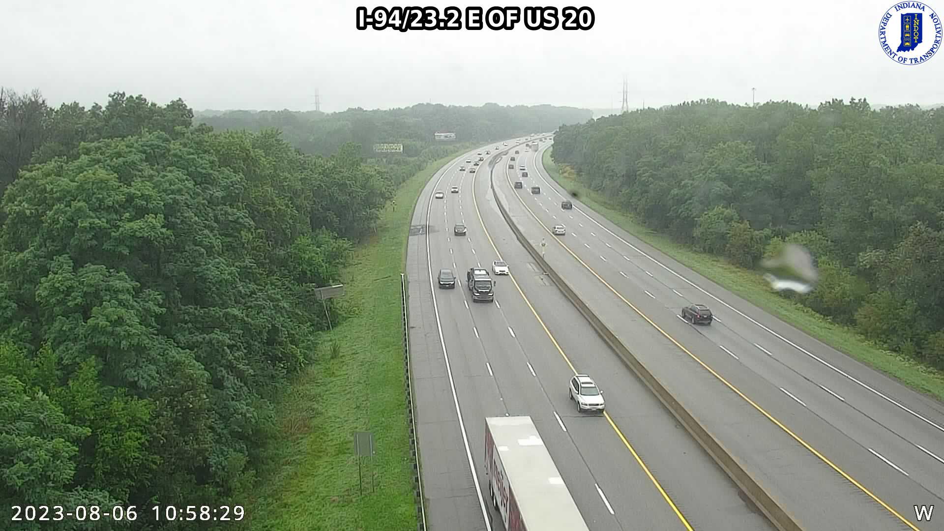 camera snapshot for WB I-94 at Beam St (+0.6 miles)