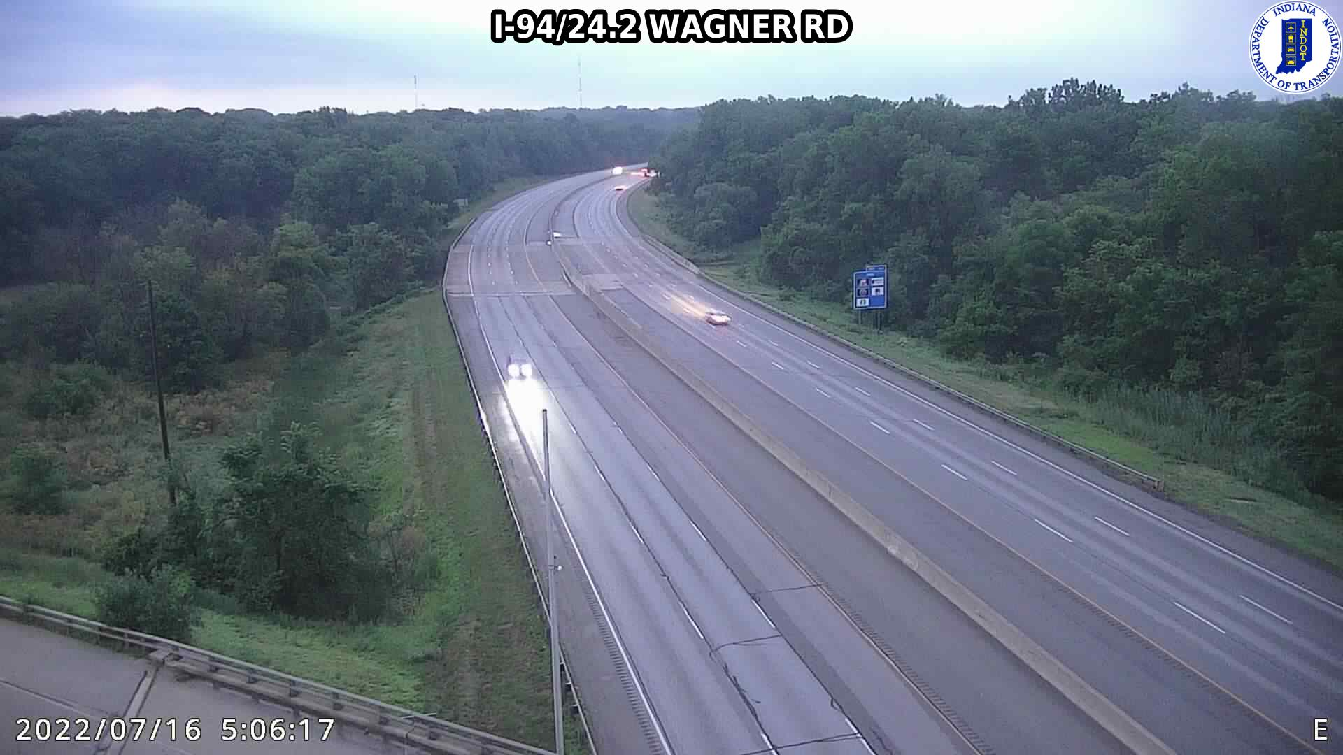camera snapshot for WB I-94 at Wagner Rd