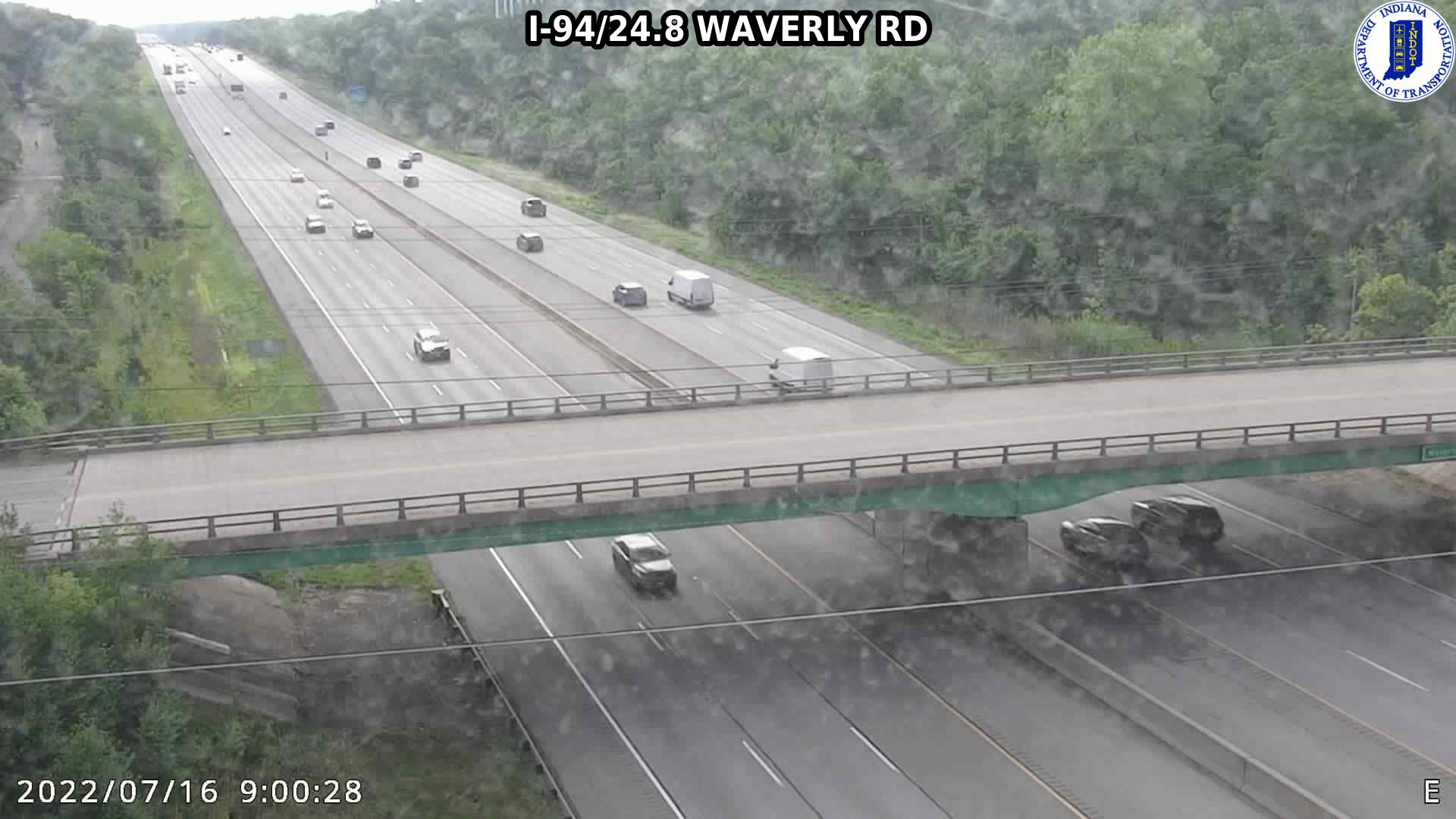 camera snapshot for WB I-94 at Waverly Rd (-0.1 miles)