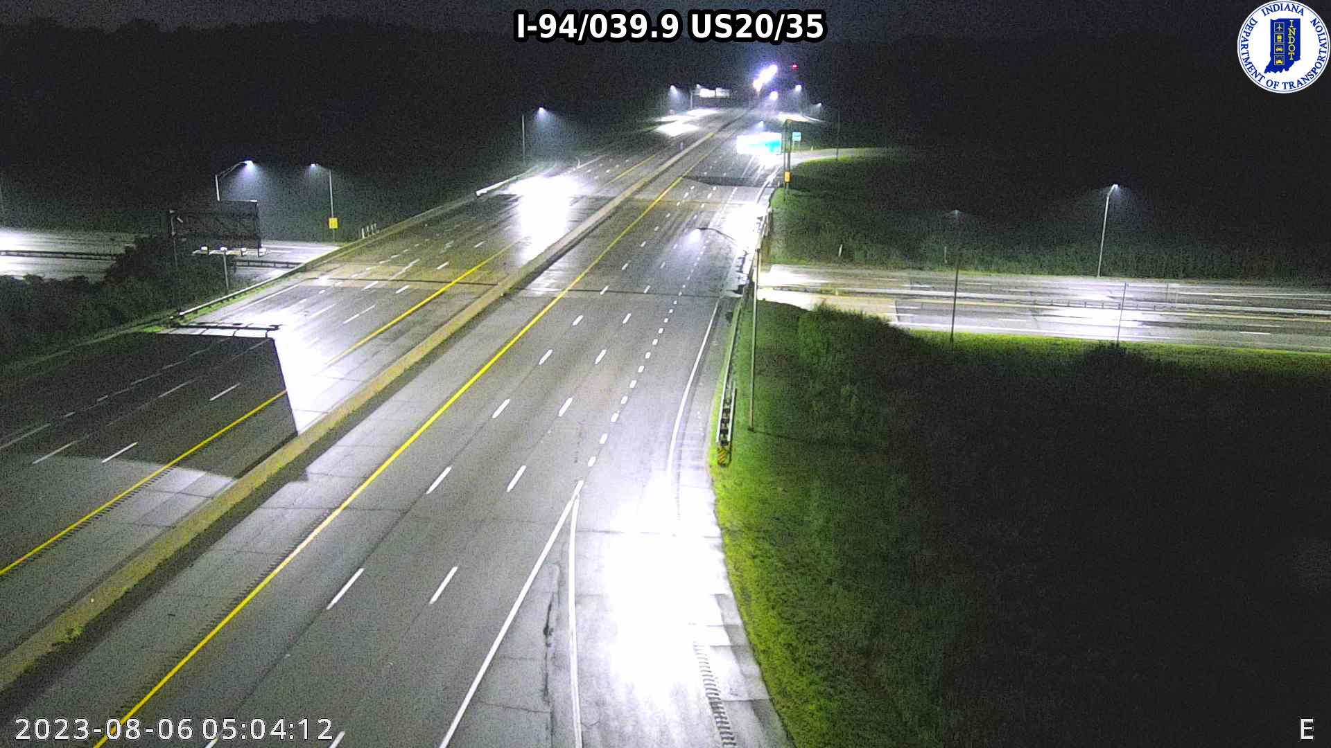 camera snapshot for WB I-94 at US-20 (-0.2 miles)