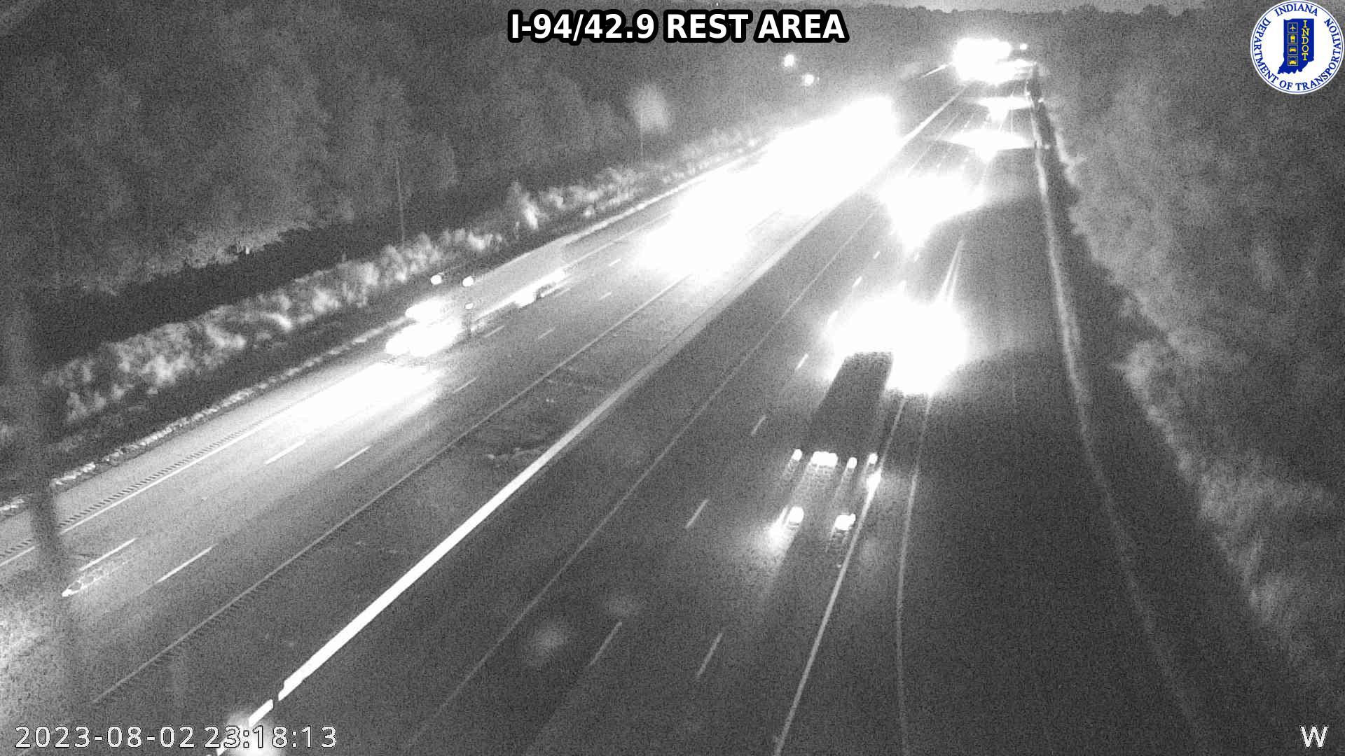camera snapshot for WB I-94 at County Road 900 N (+0.3 miles)